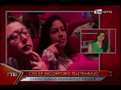 CNT EP incorporó teletrabajo como nueva modalidad laboral