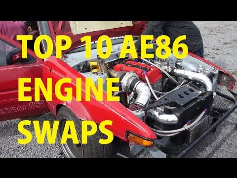 Top 10 Most Impressive AE86 Engine Swaps