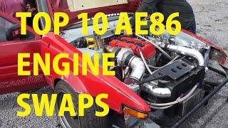 Top 10 Most Impressive AE86 Engine Swaps