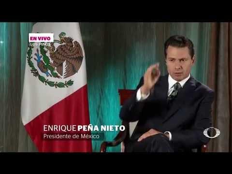 Denise Maerker entrevista al presidente Enrique Peña Nieto