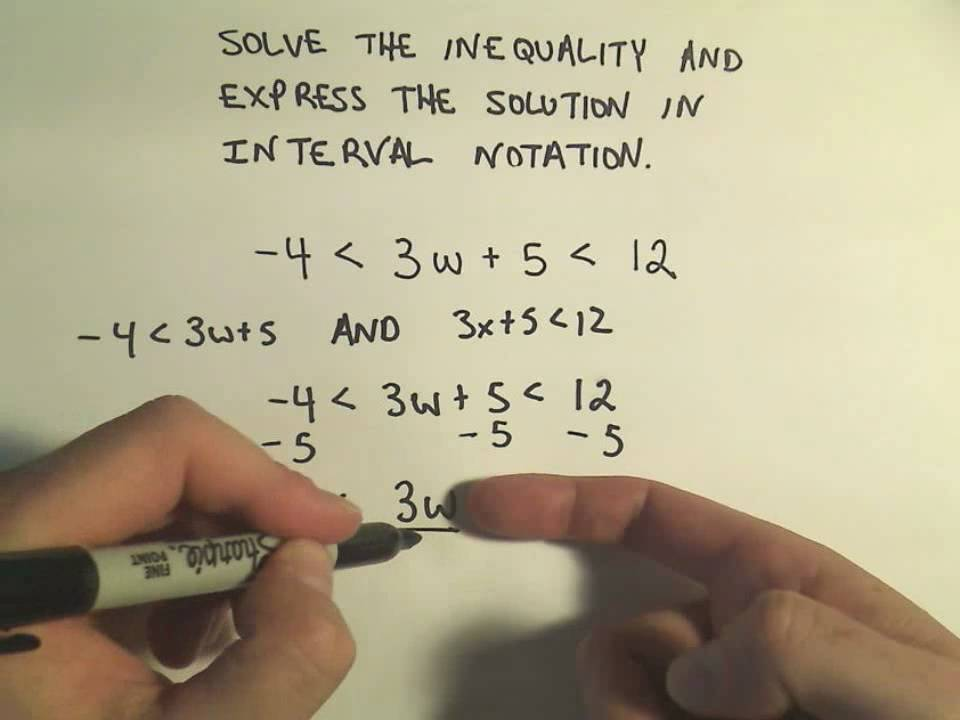 Solving Linear Compound Inequalities Example 2 Compound Inequalities Graphing Linear Inequalities Inequality