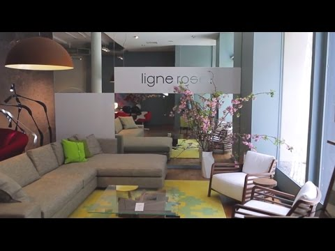 A Visit To Ligne Roset In Nyc Youtube