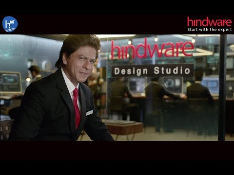 Hindware TVC 2017 with Shah Rukh Khan - Start with the Expert