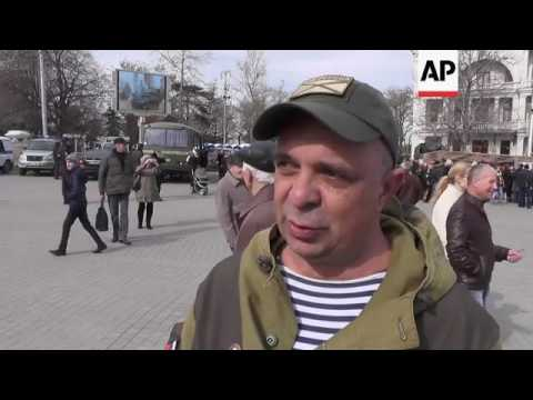 Russia Army Day parade celebrated in Crimea
