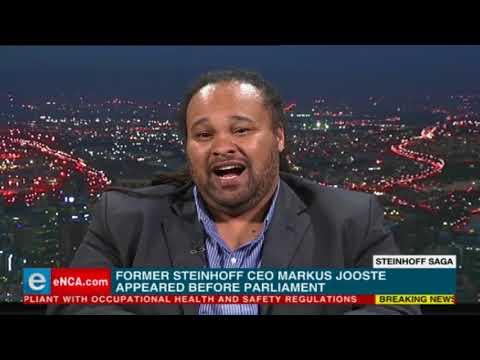 Markus Jooste explains his part in Steinhoff saga