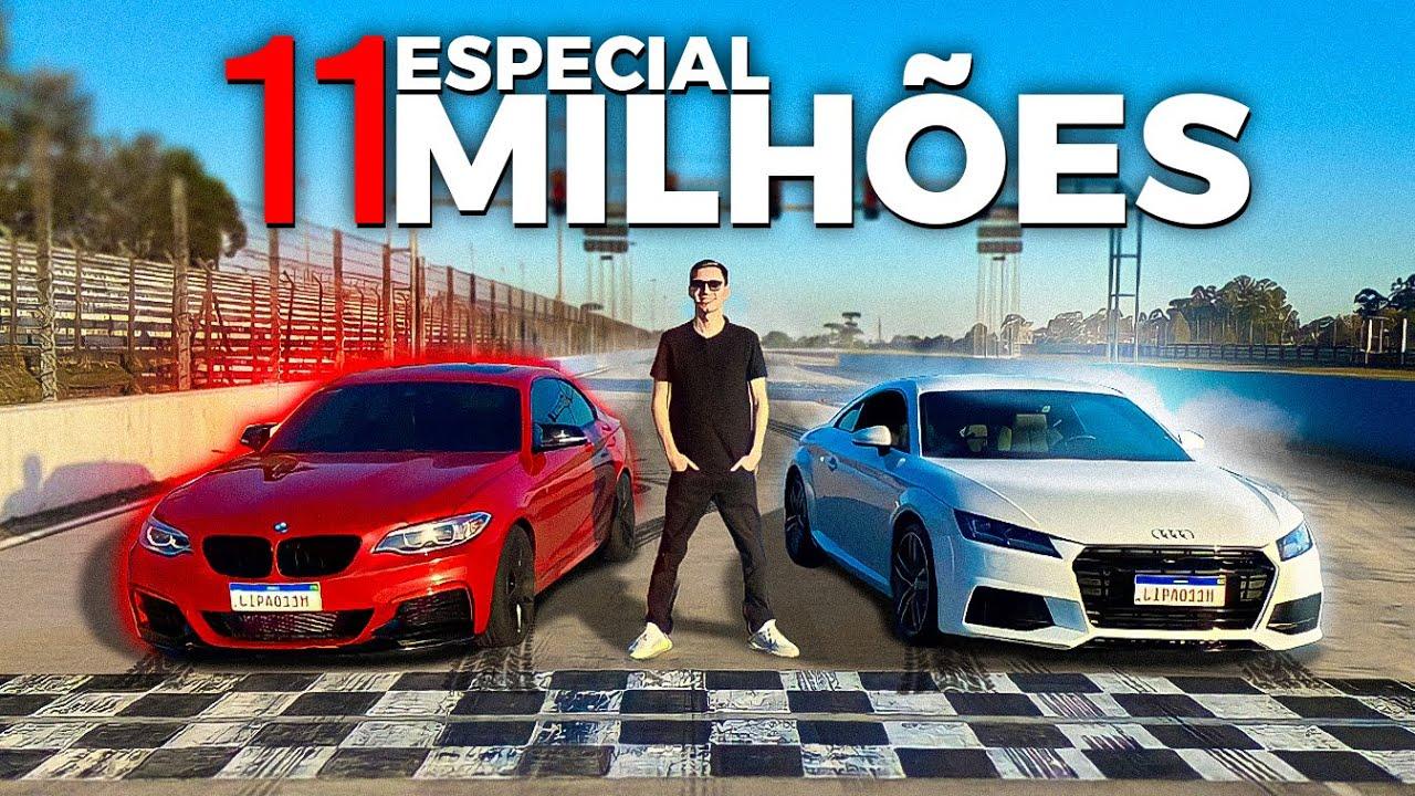 11 MILHÕES DE INSCRITOS - ACELEREI MEU CARRO NOVO!!!