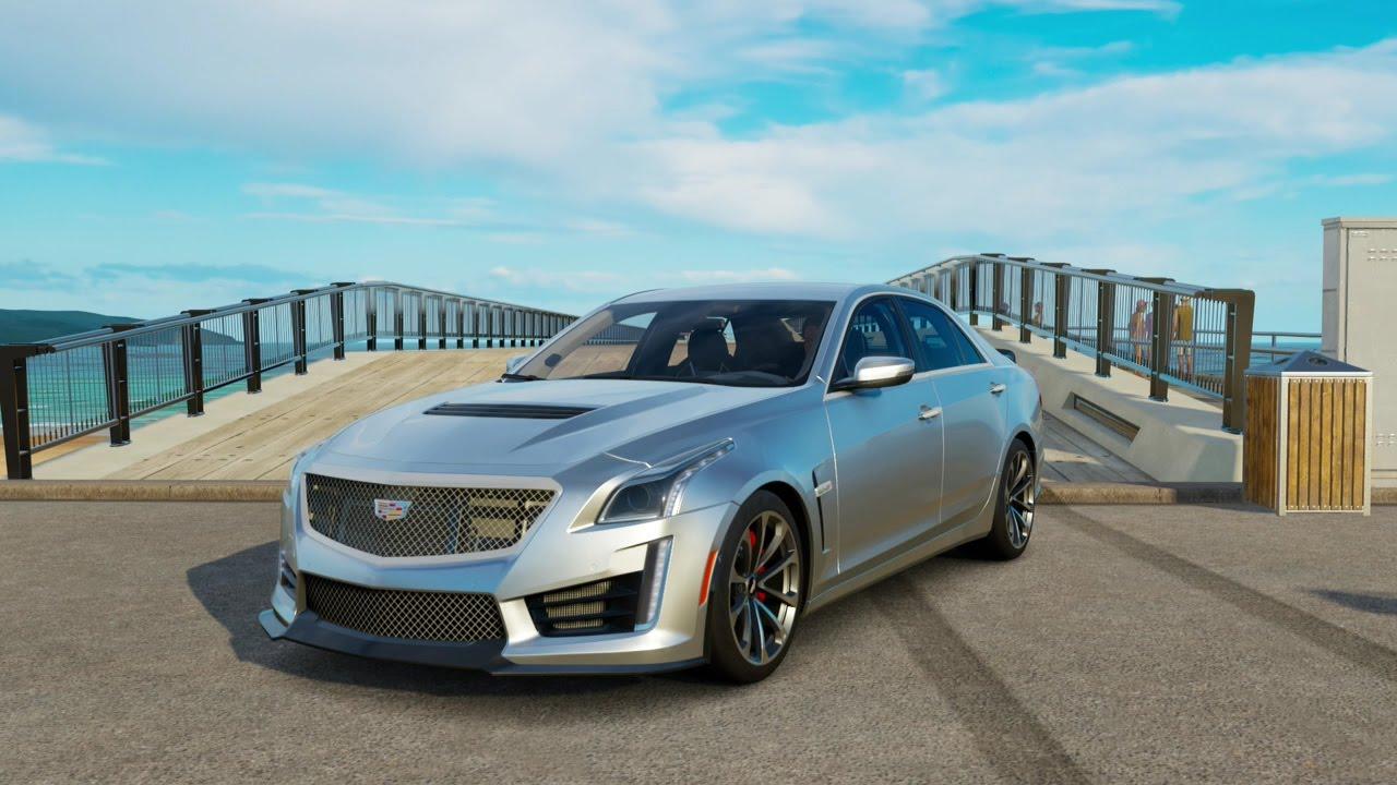 Forza Horizon 3| 2016 Cadillac CTS-V Sedan - YouTube
