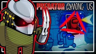 THE PREDATOR MOD! - Among Us (Turn Invisible & See in the dark)