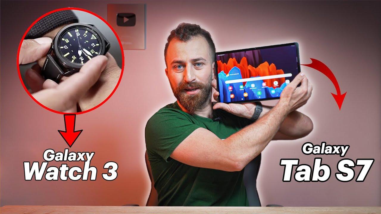 Galaxy Tab S7 და საათების ცვენა -Unboxing By Giorgi Danelia