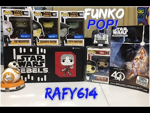 Funko POP! Haul Star Wars Style and big announcement!!!
