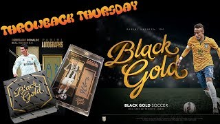 THROWBACK THURSDAY | BOX OPENING | BLACK GOLD SOCCER 2016-17