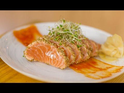 Save Bearded Salmon Sashimi Snapshots