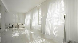 Легкие белые шторы в интерьере как создать атмосферу уюта и чистоты.