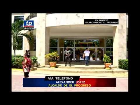 Intervienen municipalidad de El Progreso - Declaraciones de Alexander López
