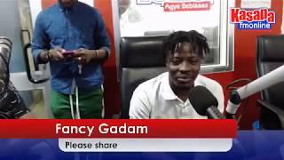 Kwame Bee  interview FANCY GADEM ON KASAPA102.5 FM