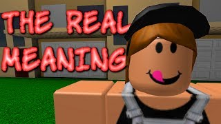 The REAL Meaning Behind ROBLOX Faces...
