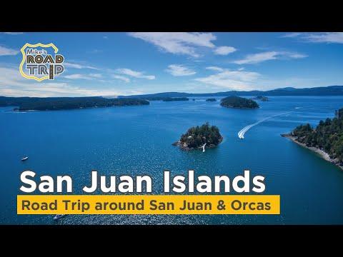 San Juan Islands - A Road Trip Around San Juan Island And Orcas Island