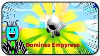 I Got The Rarest Hat In The Game - Roblox Ice Cream Simulator *Dominus Empyreus*