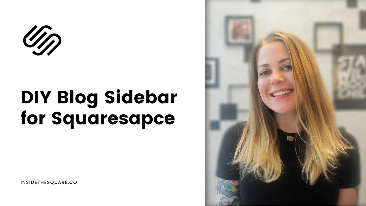 How to create a sidebar in Squarespace 7.1 / Squarespace 7.1 Sidebar Tutorial - works for Brine too