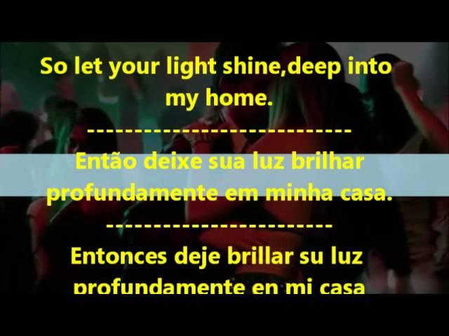 Que significa en español let your light shine