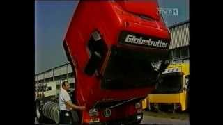 Volvo FH12 - assembly in Poland (video from 1995)