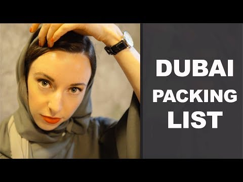 What To (and NOT To) Wear In Dubai | Packing List & Tips