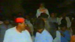 abdul haque bhurt with aasif ali zardary election work 1993 in n,feroze