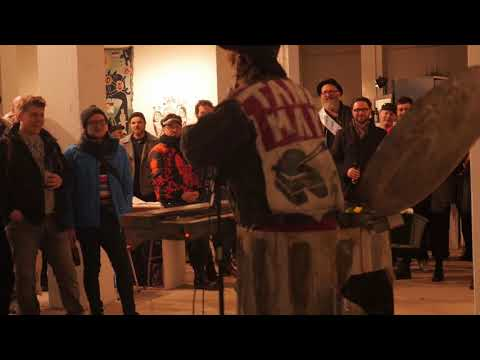 love trash - Rowan van As Not for profit art party Rotterdam, 2018
