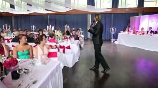 Schock Für Die Gäste Durch Tamada Stas   Einleitung Und Begrüßung Mal Anders
