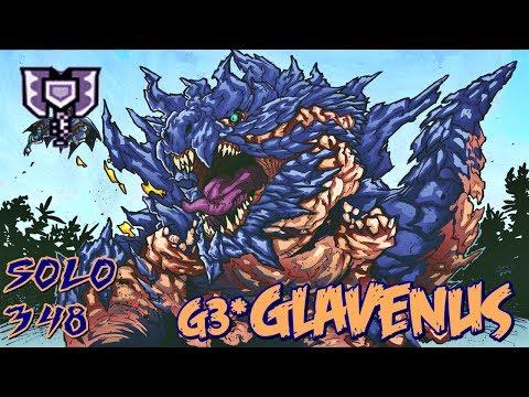 ┌MHXX/MHGU┘ G3★ - Glavenus || 3'48 - Striker Charge Blade
