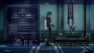 Final Fantasy Xv| New Game+++| Version 1.05 Patch #1