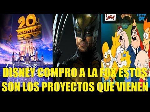 Disney Ya Compro a la FOX Estos son los Proyectos que Vienen en Camino de Series y Peliculas