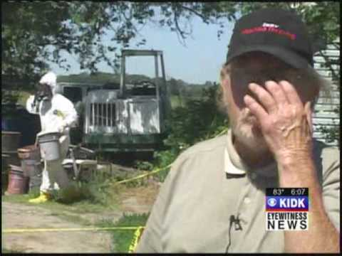 EPA finds hazardous waste, home owner defends his chemicals are harmless