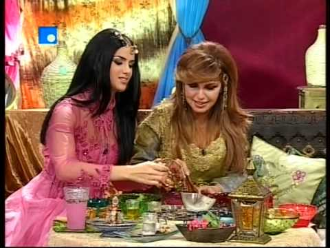 Natural remedies the lebanese beauty facialist Leila Obeid - Imarat  2008