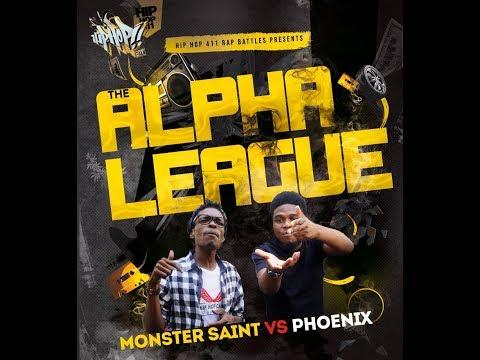 Hip-Hop 411 Rap Battle Presents - The Alpha League Rap Battles (Phoenix VS Monster Saint)