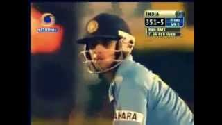 Angry Rahul Dravid 50(22)   Destroys NEW ZEALAND!!