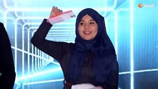 المخترعة الجزائرية رقية دراوي تقصى من تصفيات نجوم العلوم وتفشل في دخول المختبر في الدوحة