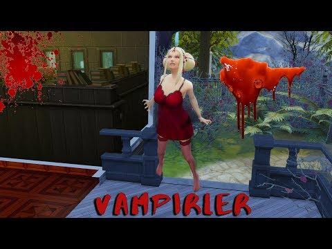 The Sims 4 Vampires Oynuyoruz|| 1: Nasıl Vampir Sim Olunur? Kan Nasıl Emilir?