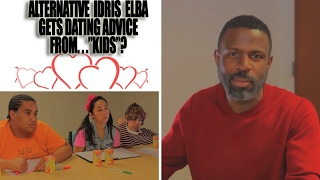 Alternative Idris Elba Gets Valentines Day Advice from