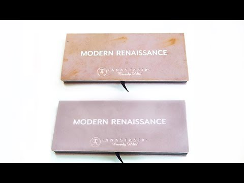 How To: Clean your Modern Renaissance Palette Anastasia Beverly Hills