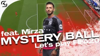 LET'S PLAY MYSTERY BALL ft. Mirza | SK FIFA 20