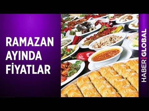 Ramazan Ayında Fiyatlar