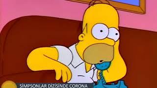 Simpsonlar  -  Corona Virüs Sahnesi