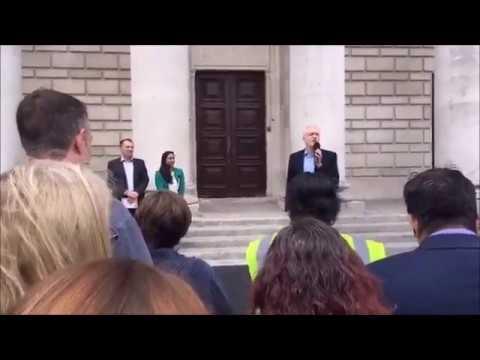 Jeremy Corbyn visits marginal seat Southampton Itchen
