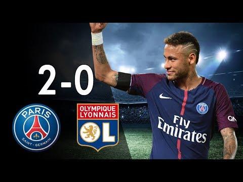 Paris Saint-Germain PSG vs Olympique Lyon 2-0 - All Goals & Highlights 17/09/2017 - HD