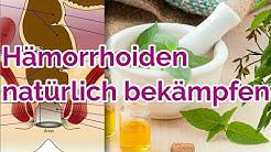 Hämorrhoiden natürlich behandeln | Hausmittel bei hämorrhoidalen Beschwerden