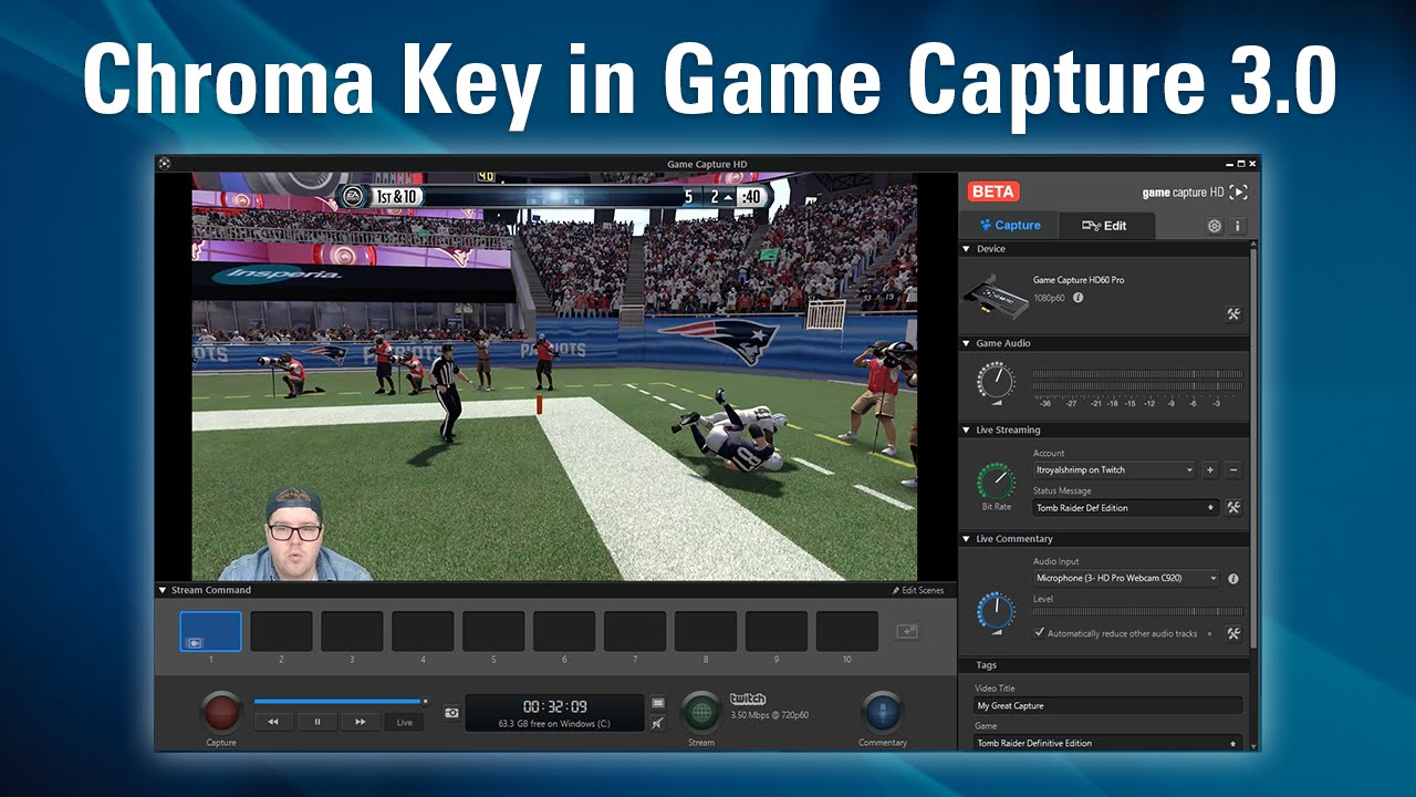 Game Capture v3 0 - How to Chroma Key