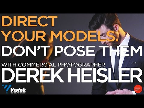 Direct your models, don't pose them - with...