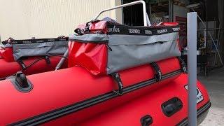 Обзор бортовых сумок к лодке ПВХ от компании Terniks|Подготовка к путешествию