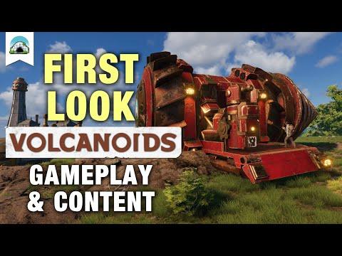 Gameplay & Content, Co-op - First Look | Volcanoids |